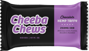 Chocolate Taffy Hemp CBD Chews