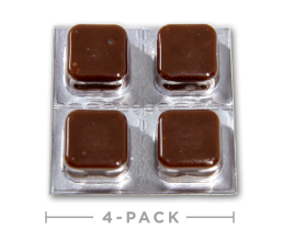 Hemp Oil CBD Edibles - Chocolate Taffy Cheeba Chews 100mg