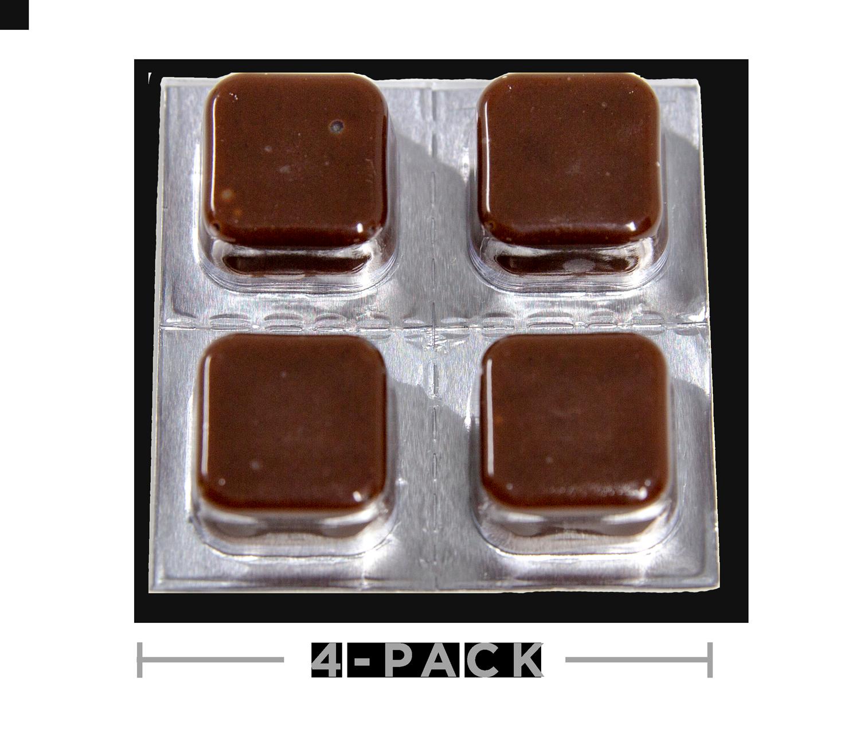 Hemp Oil CBD Edibles - Chocolate Taffy Cheeba Chews 100mg