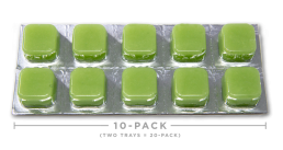 Hemp Oil CBD Edibles - Sour Apple Taffy Cheeba Chews 250mg
