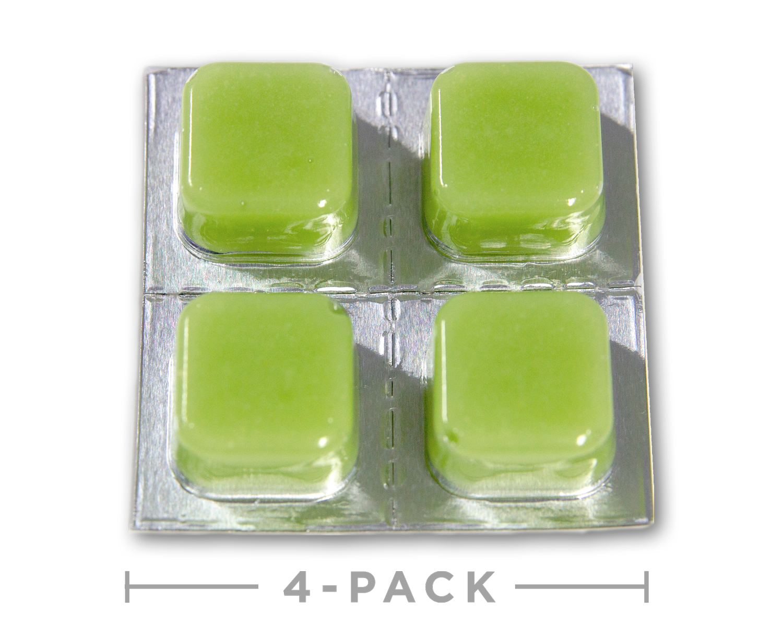Hemp Oil CBD Edibles - Sour Apple Taffy Cheeba Chews 100mg