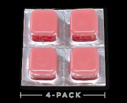 Hemp Oil CBD Edibles - Strawberry Taffy Cheeba Chews 100mg