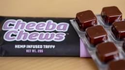 Hemp CBD Oil Infused Taffy Edibles Cheeba Chews